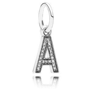 NEW Authentic Pandora Alphabet Letter A Charm